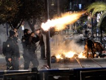 Clashes after boy dies from injury at Turkey protests