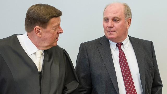 Uli Hoeneß Prozess gegen FC-Bayern-Präsident