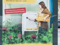 Post bietet Paketkästen für daheim an