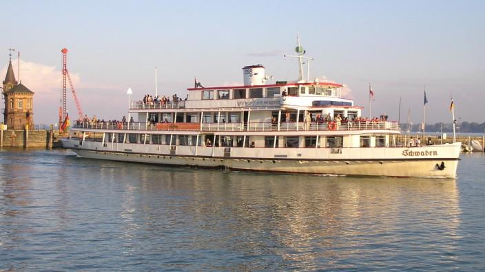 Bodensee, Schiff MS Schwaben