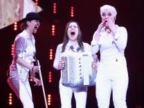 """Elaiza bei der Show """"Unser Song für Dänemark"""""""