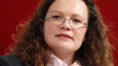 Andrea Nahles im Porträt