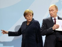 Merkel verschärft Ton gegenüber Moskau
