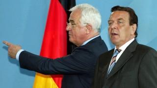 Gerhard Schröder und Peter Hartz