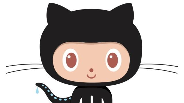 Logo von Github: Die Octocat