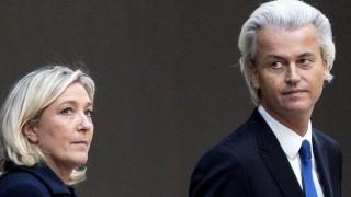 Europawahl - Marine Le Pen und Geert Wilders