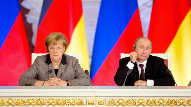 Merkel und Putin
