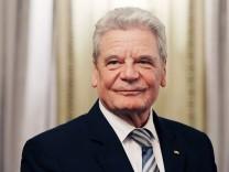 Joachim Gauck Bundespräsident