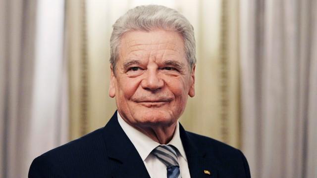 Joachim Gauck Zwei Jahre Joachim Gauck