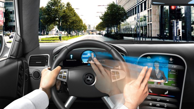 Winken und wischen: die Gestensteuerung im Auto kommt.