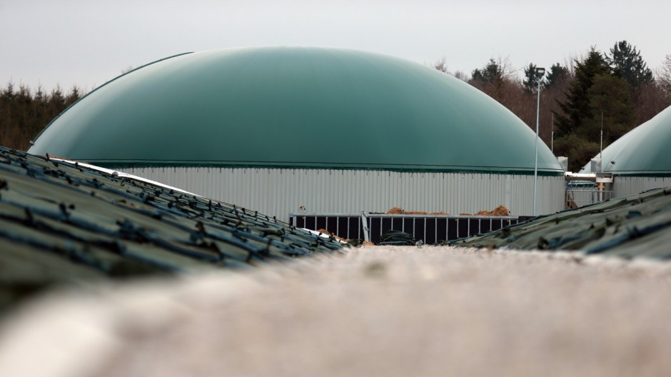 Biogasanlage in Egg, 2013
