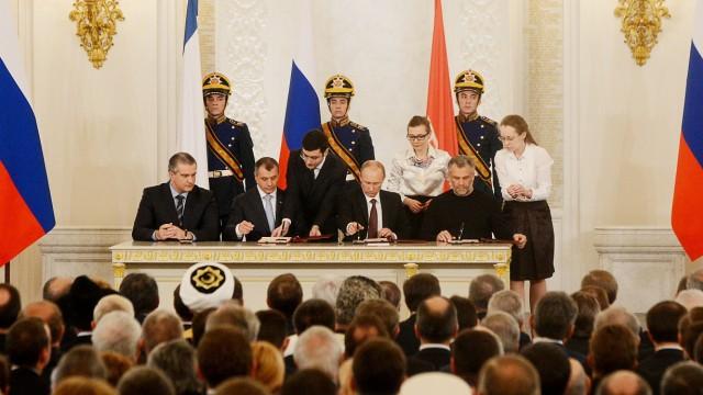 Krim Rede zur Krim-Krise