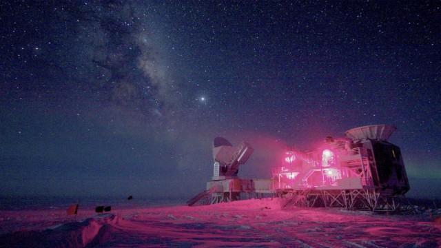 BICEP-Teleskop am Südpol