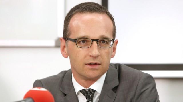 Bundesjustizminister Heiko Maas (SPD)