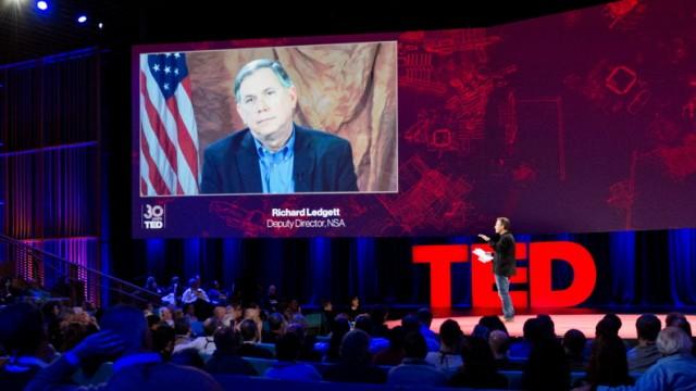 Stellvertretender NSA-Chef Rick Ledgett im Videointerview auf der Ted-Konferenz 2014 in Vancouver