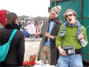 Flohmarkt auf der Theresienwiese
