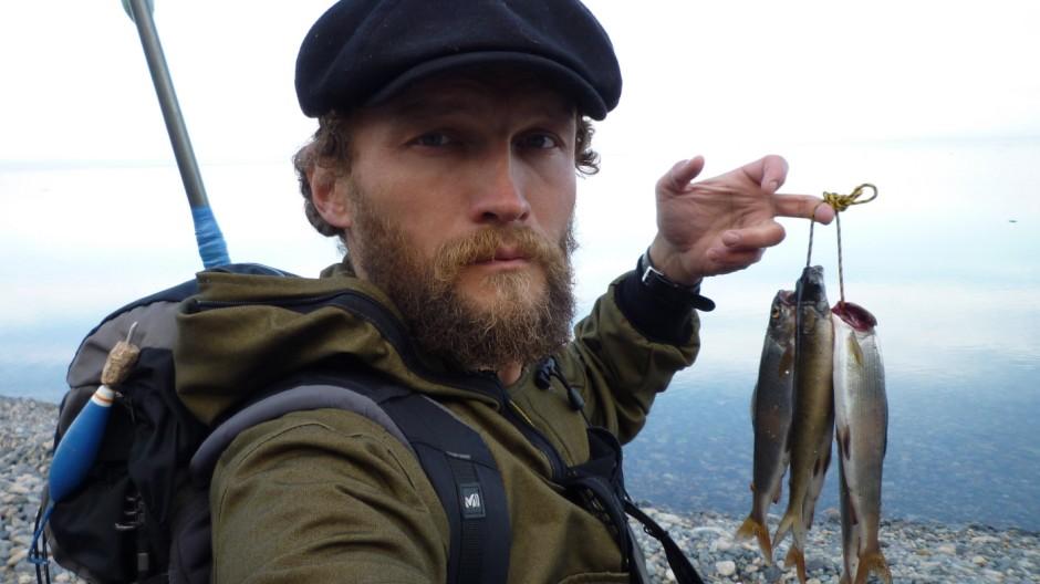 Sylvain Tesson Baikalsee Sibirien