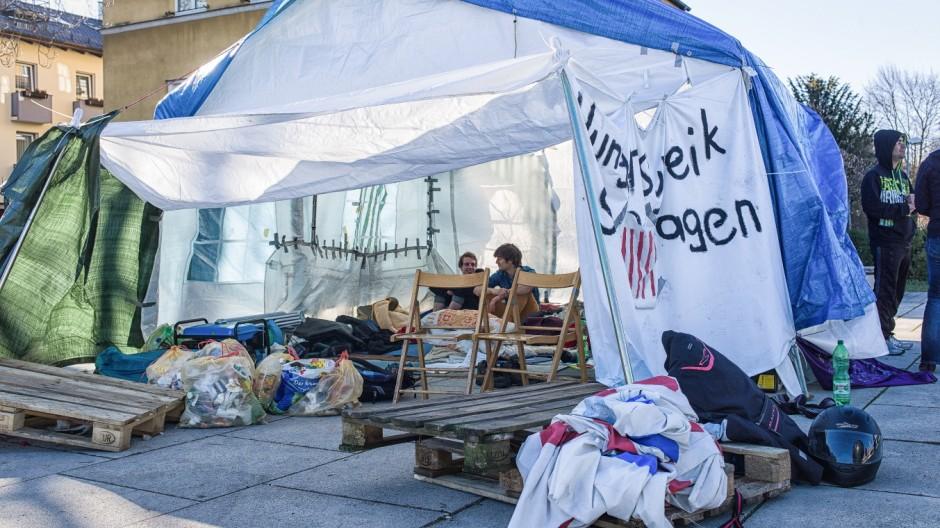 Amberg Flüchtlinge im Hungerstreik