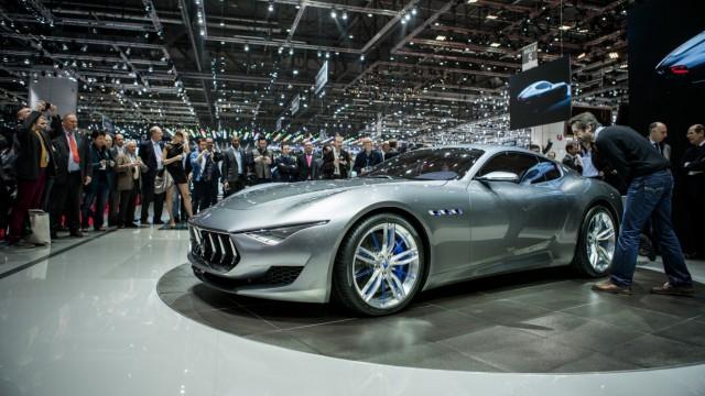 Konzeptstudie Maserati Alfieri auf dem Genfer Autosalon 2014.