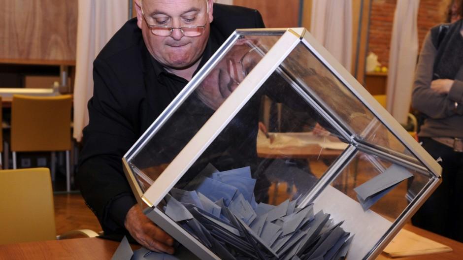 Wahlen in Frankreich Kommunalwahl in Frankreich