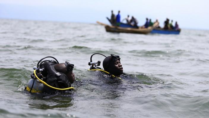 Uganda DR Kongo Albertsee Fährunglück