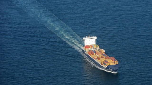 Schiffsverkehr auf der Nordsee