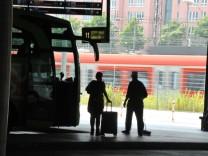 Zentraler Omnibusbahnhof in München, 2013