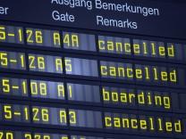 Warnstreiks an Flughäfen