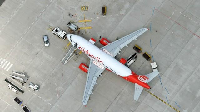 Air Berlin sucht nach Geld