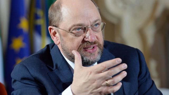 SPD-Kandidat für die Europawahl Martin Schulz
