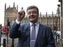 Petro Poroschenko Ukraine Präsidentschaftskandidatur