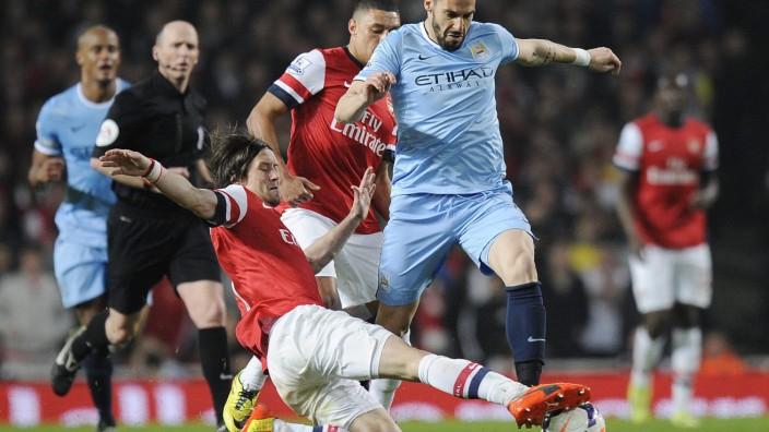 Arsenal London Manchester City
