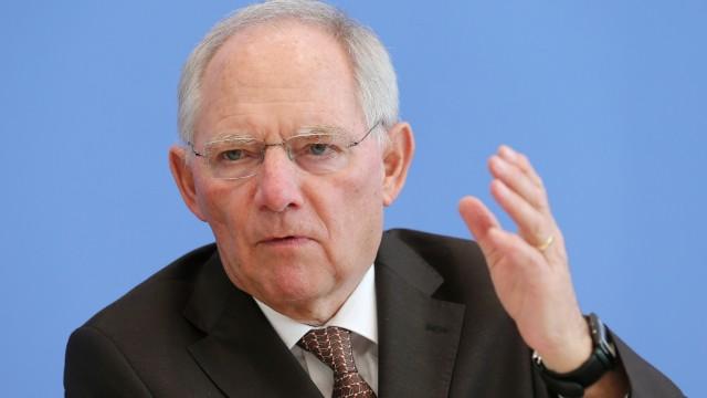 Schäuble stellt Bundeshaushalt 2014 vor