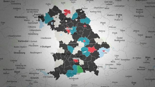 Ergebnisse Kommunalwahlen Bayern