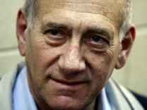 Beweisaufnahme im Prozess gegen Olmert beginnt