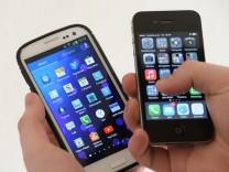 Patentstreit zwischen Apple und Samsung