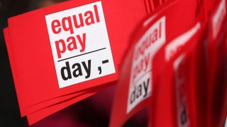 'Equal Pay Day' Protesters Demand Equal Pay For Women