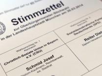 Stichwahl Oberbürgermeister München