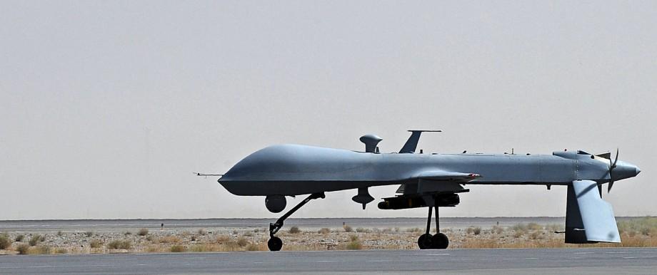 Drohnenkrieg US-Militärflughafen in Deutschland