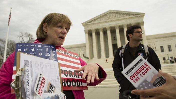 Supreme Court Parteispenden