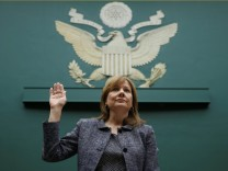 General-Motors-Chefin Mary Barra vor dem US-Kongress