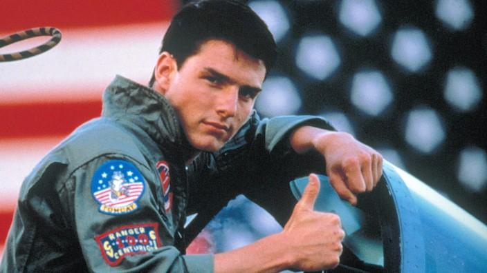 "Tom Cruise in ""Top Gun"""