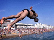 Strandbad in Brighton, Reuters