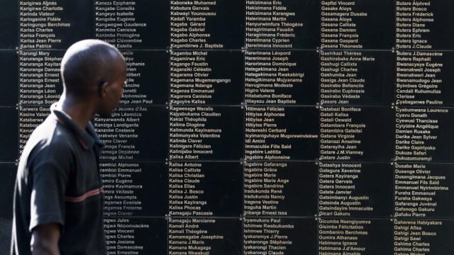 Denkmal-Zentrum in Kigali