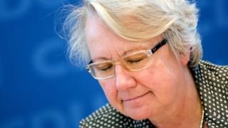 Gibt auf: Annette Schvan.