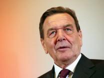 SPD Celebrates Gerhard Schroeder's 70th Birthday