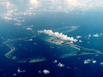 FILE PHOTO OF INDIAN OCEAN ISLAND OF DIEGO GARCIA