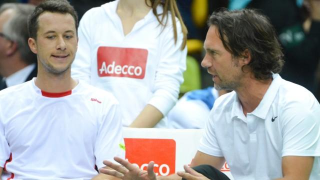 Philipp Kohlschreiber und Carsten Arriens
