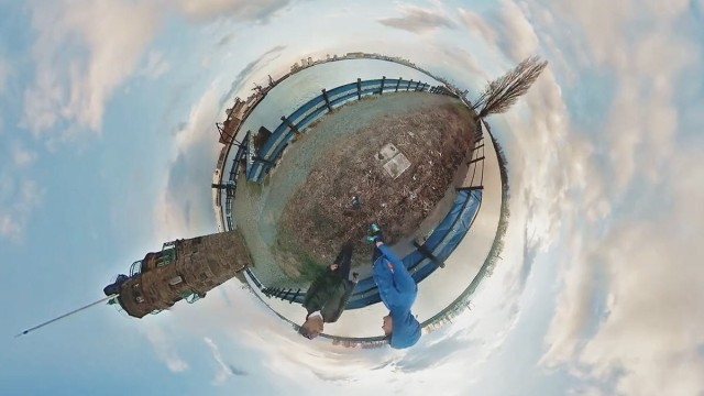 Murmeloptik: Sechs Kameras erzeugen die Illusion eines kleinen Planeten