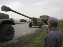 Ukrainisches Militär nahe Donezk